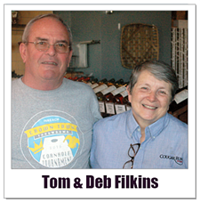 Courgar Run Tom & Deb Filkins Polaroid